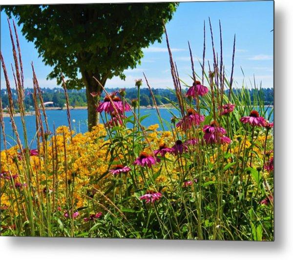 Summer Flowers Vancouver 1 Metal Print