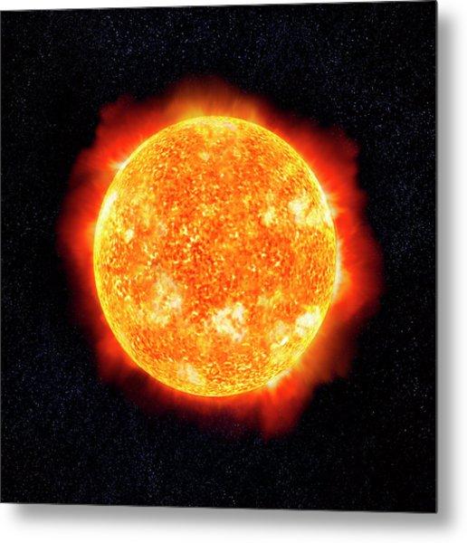 Sun & Stars Metal Print by Ian Mckinnell