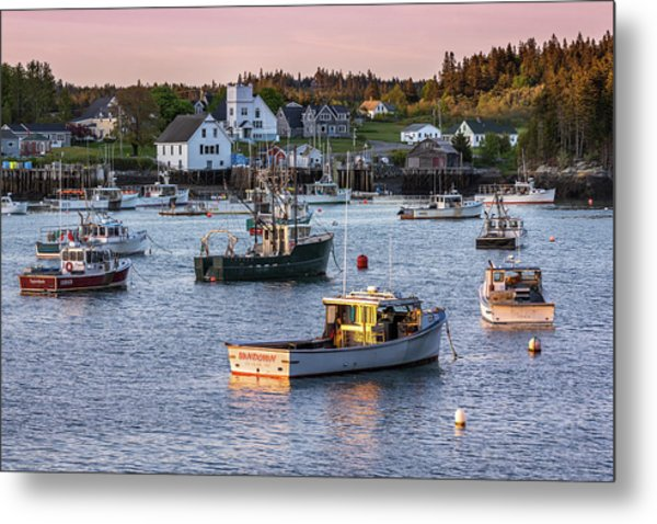 Sundown At Cutler, Maine Metal Print