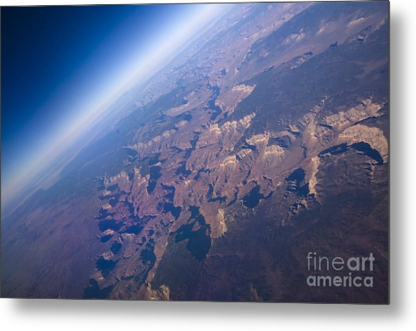 Sunrise Aerial View Of The Grand Canyon Metal Print