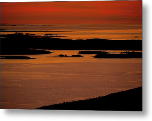 Sunrise Cadillac Mountain Metal Print