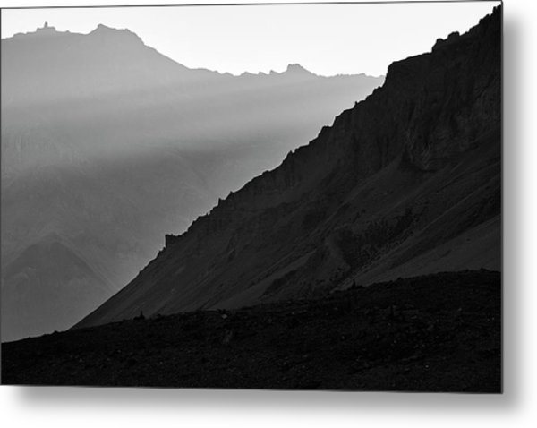 Metal Print featuring the photograph Sunrise In The Himalayas by Whitney Goodey