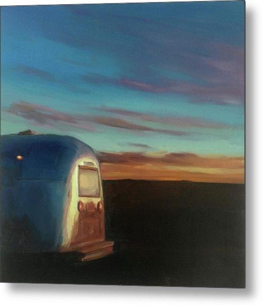 Sunrise Near Amarillo Metal Print