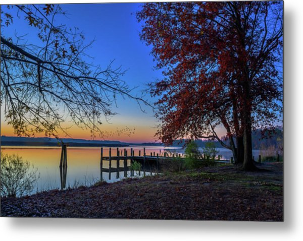 Sunrise On The Patuxent Metal Print