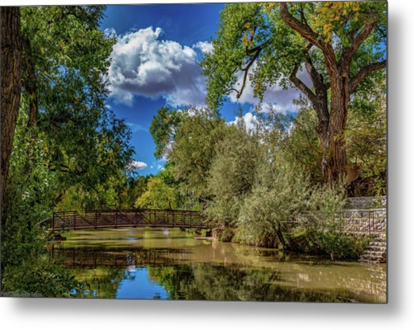 Sunrise Springs Metal Print