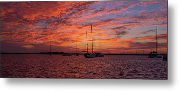 Metal Print featuring the photograph Sunset Across The Keys by Mark Duehmig