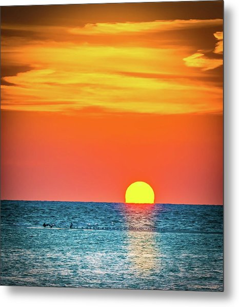 Sunset Captiva  Metal Print