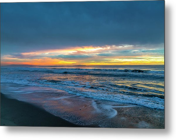 Sunset Fire Over Catalina Island 2 Metal Print