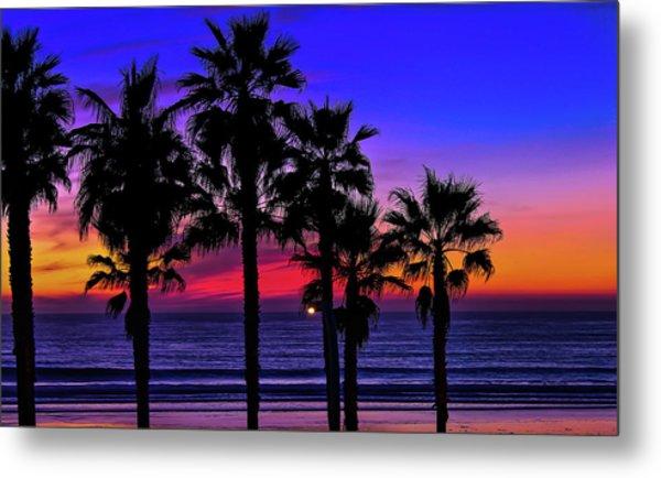 Sunset From The Ocean Park Inn Metal Print