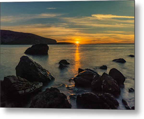 Sunset In Balandra Metal Print