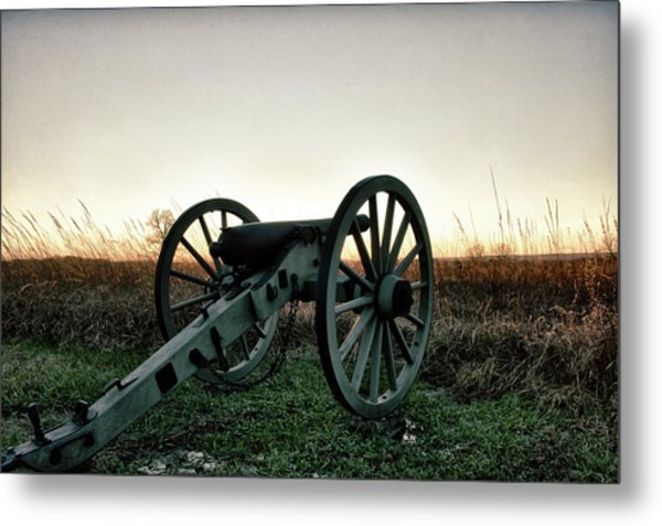 Sunset In Defense Metal Print