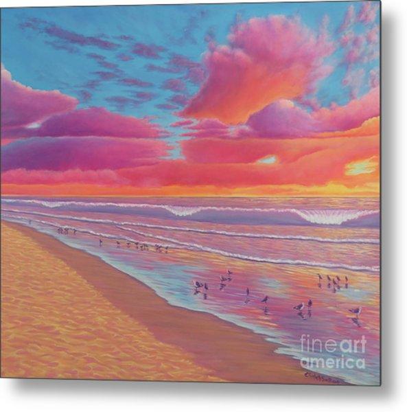 Sunset Shore Metal Print