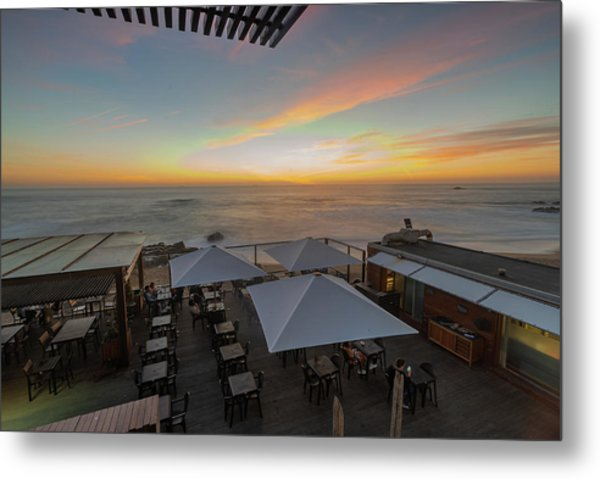Metal Print featuring the photograph Sunset Vibes by Bruno Rosa