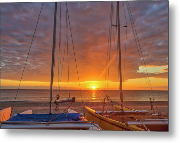 Metal Print featuring the photograph Sunshine State by Juergen Roth
