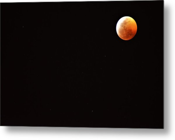 Super Blood Wolf Moon Metal Print