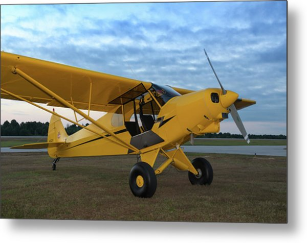 Super Cub At Daybreak Metal Print