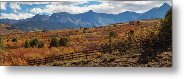 Sw Autumn Colorado Rocky Mountains Panoramic View Pt2 Metal Print by James BO Insogna