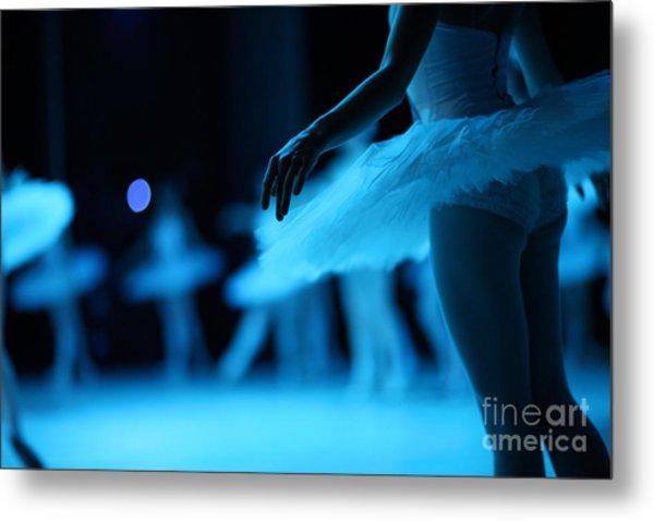 Swan Lake Ballet Metal Print
