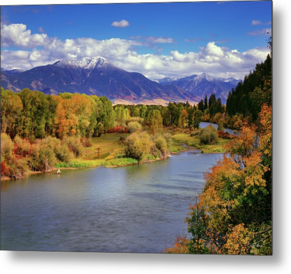 Swan Valley Autumn Metal Print