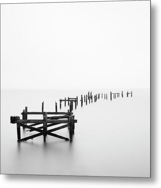 Swanage Pier Metal Print