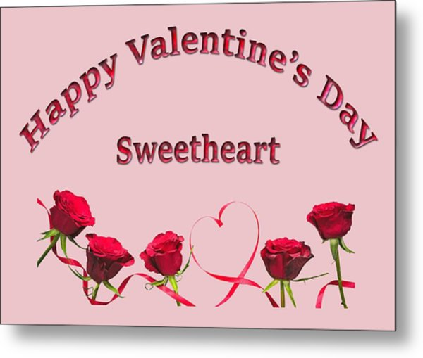 Sweetheart Rose Metal Print