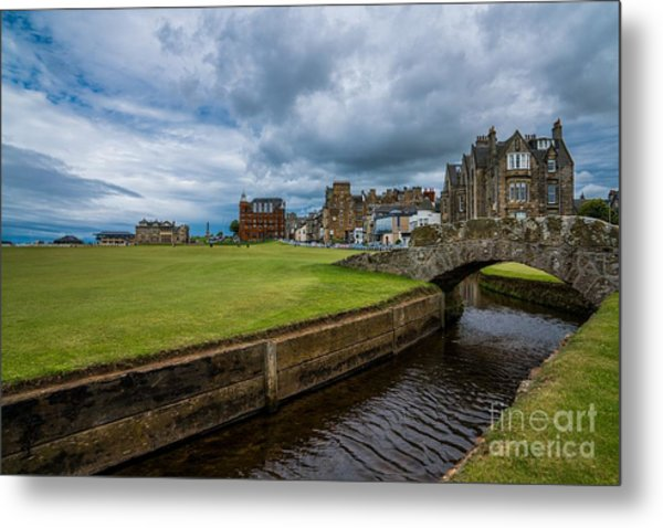 Swilcan Burn - The Old Course  Metal Print