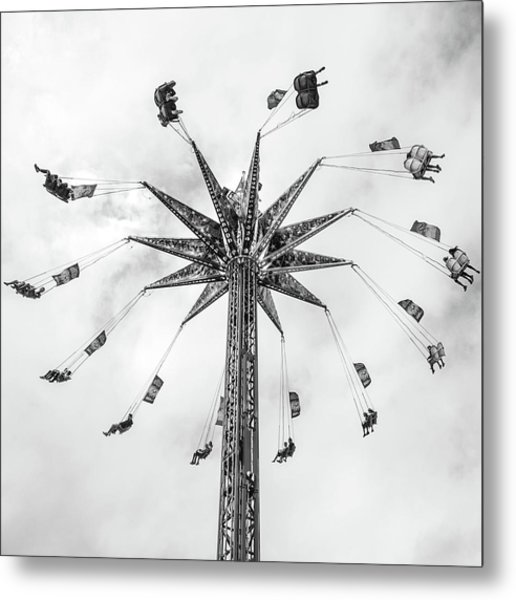 Metal Print featuring the photograph Swing  by Whitney Leigh Carlson