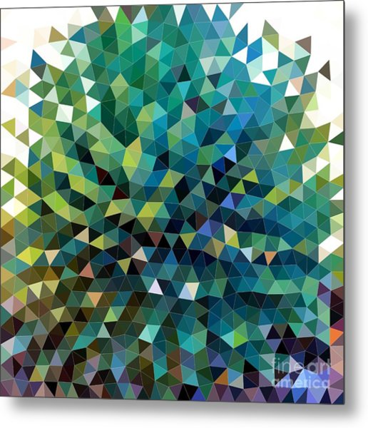 Synchronicity Of Color Metal Print