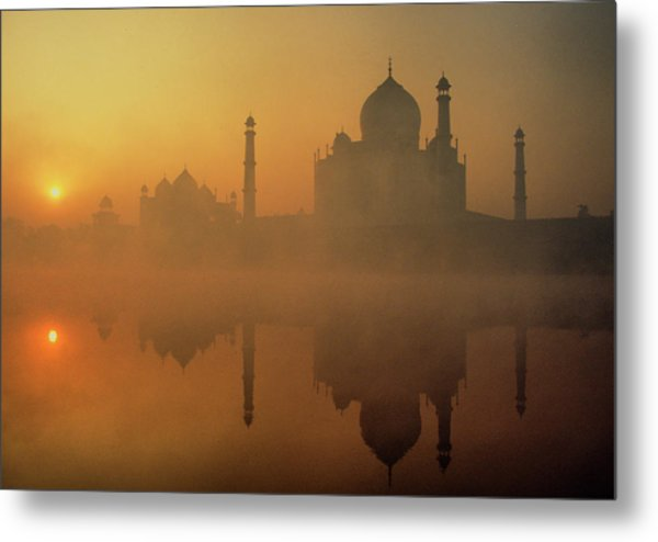 Taj Mahal Metal Print by Neal J. Wilson