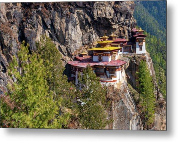 Taktsang Monastery  Metal Print