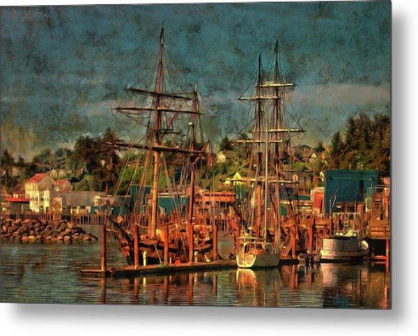 Tall Ships Metal Print
