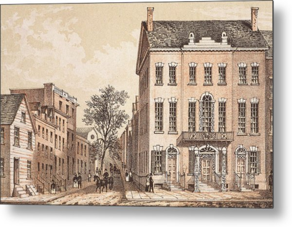Tammany Hall Metal Print by Archive Photos