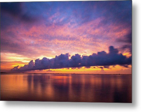 Tampa Bay Sunrise Metal Print