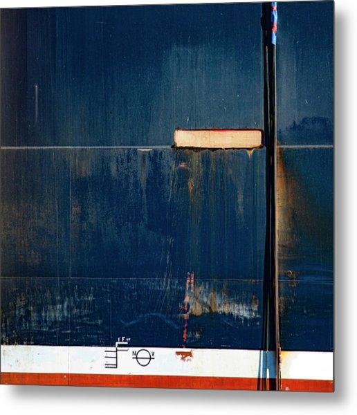 Tanker In Drydock Number 2 Metal Print