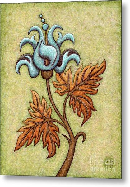 Tapestry Flower 2 Metal Print