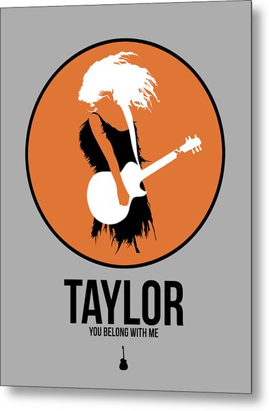 Taylor Swift Metal Print