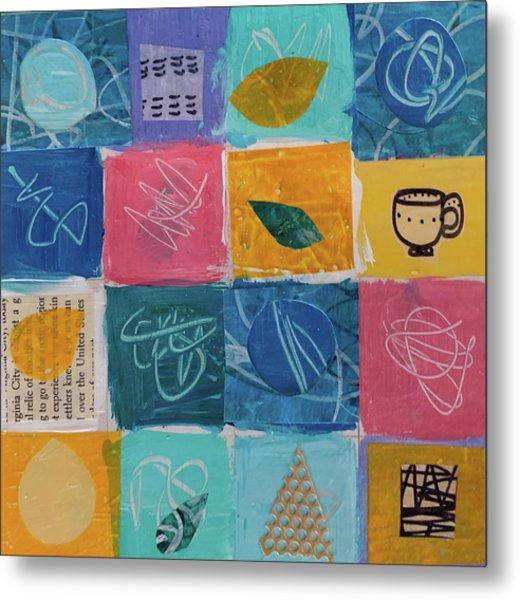 Tea Box One Metal Print