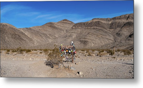 Metal Print featuring the photograph Teakettle Junction I by William Dickman