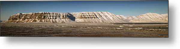 Tempelfjord Svalbard Metal Print
