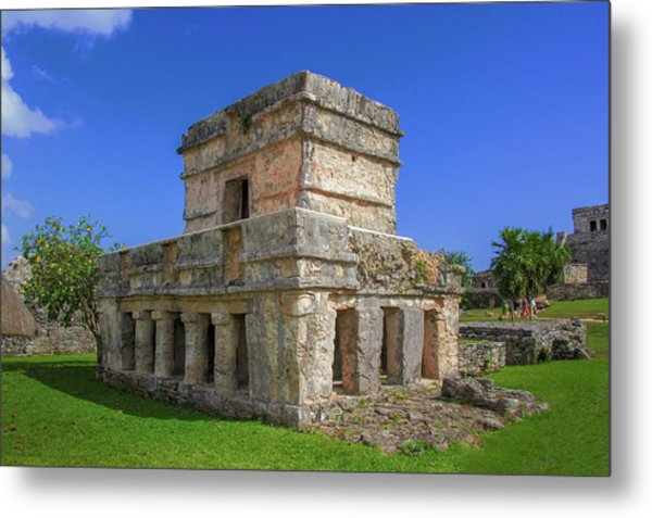 Temple Of The Frescoes Metal Print