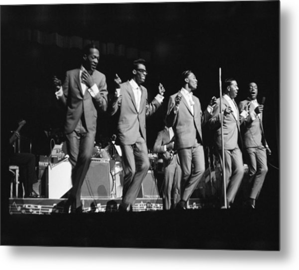 Temptations At The Apollo Metal Print