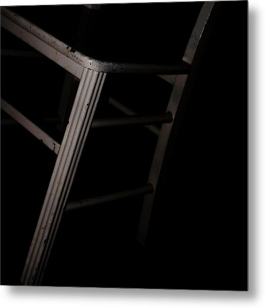Tentative / The Chair Project Metal Print