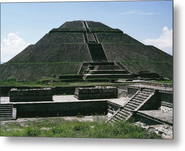 Teotihuacan Metal Print by Archive Photos