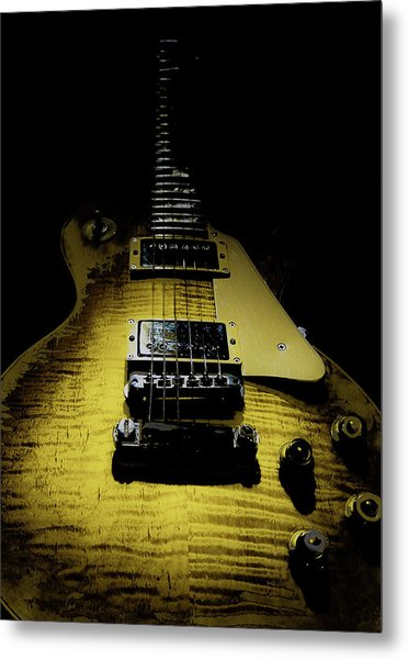 Honest Play Wear Tour Worn Relic Guitar Metal Print