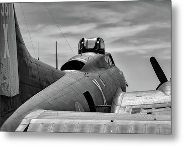 Texas Raiders On The Ramp Metal Print