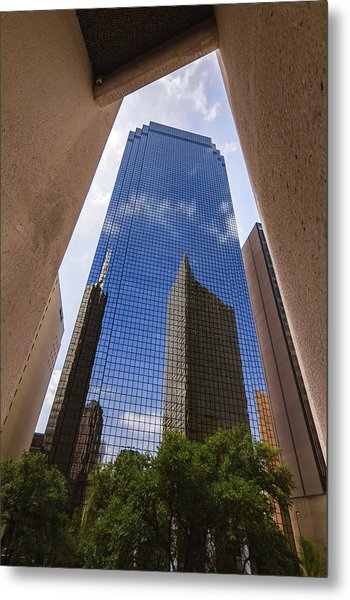 Thanksgiving Tower Metal Print