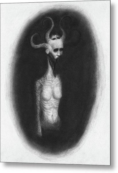 That Which Feasts On The Seventh Night - Artwork Metal Print