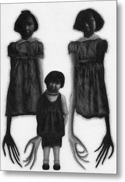 The Abberant Sisters - Artwork Metal Print