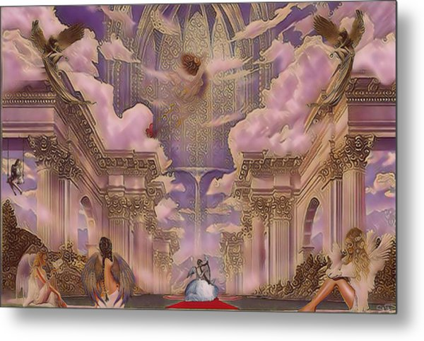 The Angels Palace Metal Print