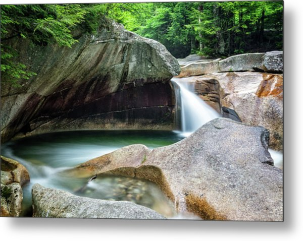 Metal Print featuring the photograph The Basin, Springtime Nh by Michael Hubley